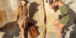 Sydney's salty rock pools photoshoot